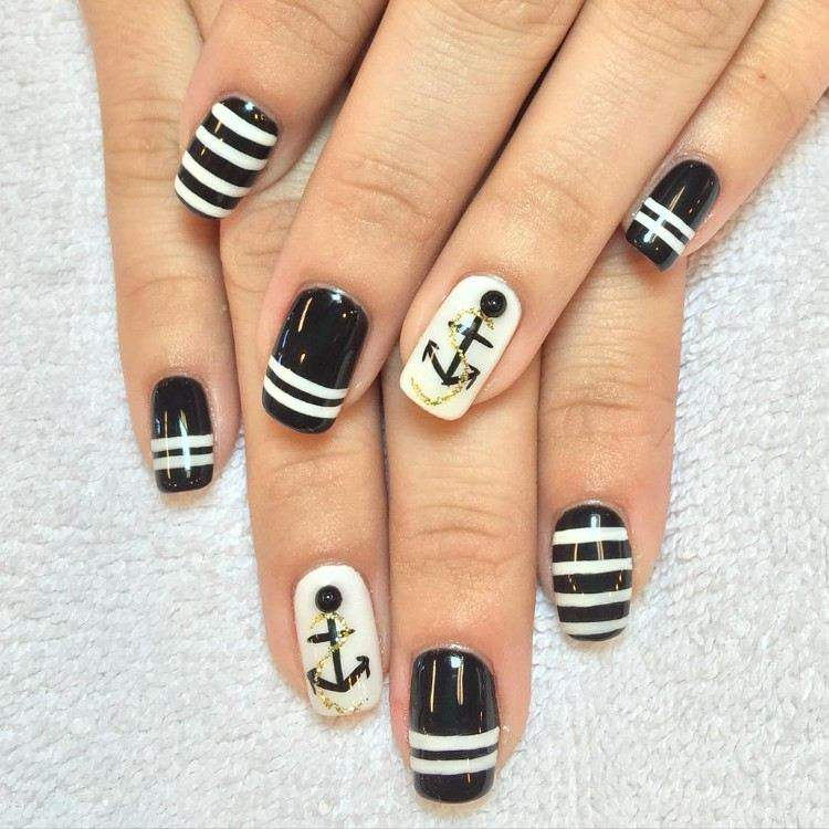 51 Creative and Colorful Nail Art Design for 2018 36