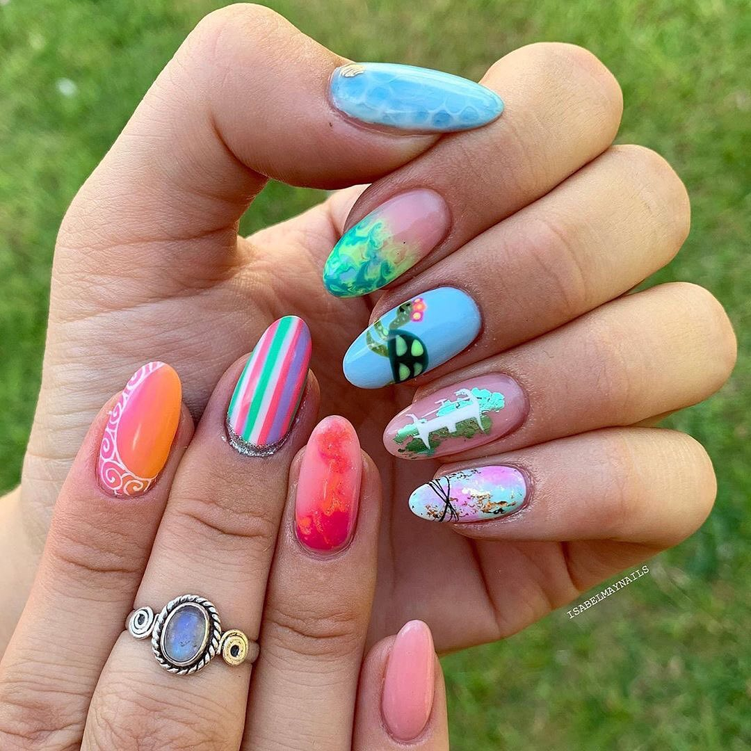 The 30 Hottest Nail Designs Trends for Autumo 2019 images 1