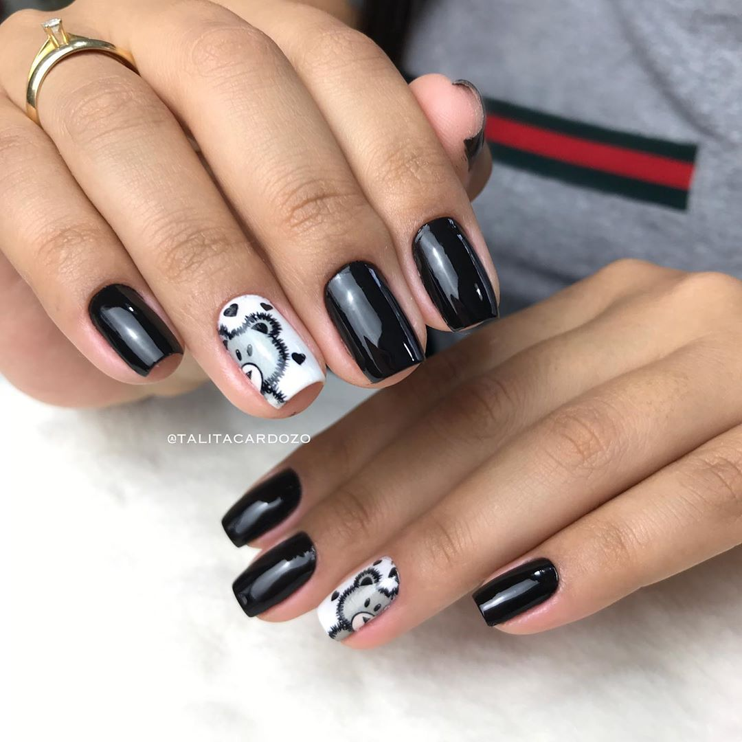 60 Cute Winter Nails Designs to Inspire Your Winter Mood images 2