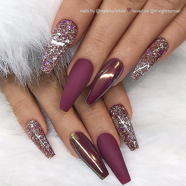 60 The Most Wonderful And Convenient Coffin Nail Designs 2019 images 1