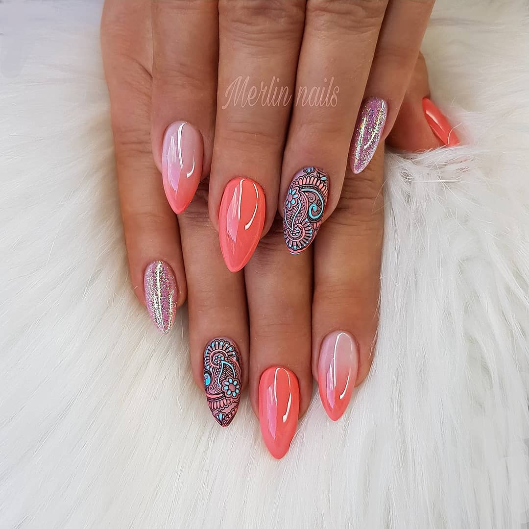 70+ Best Winter Nail Art Designs You Need to Copy images 2