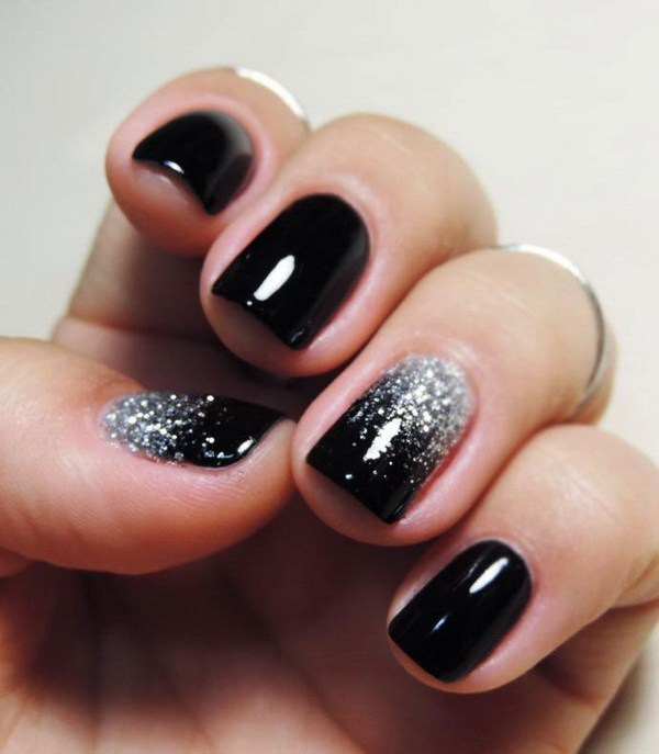 80 Incredible Black Nail Art Designs for Women and Girls img 1
